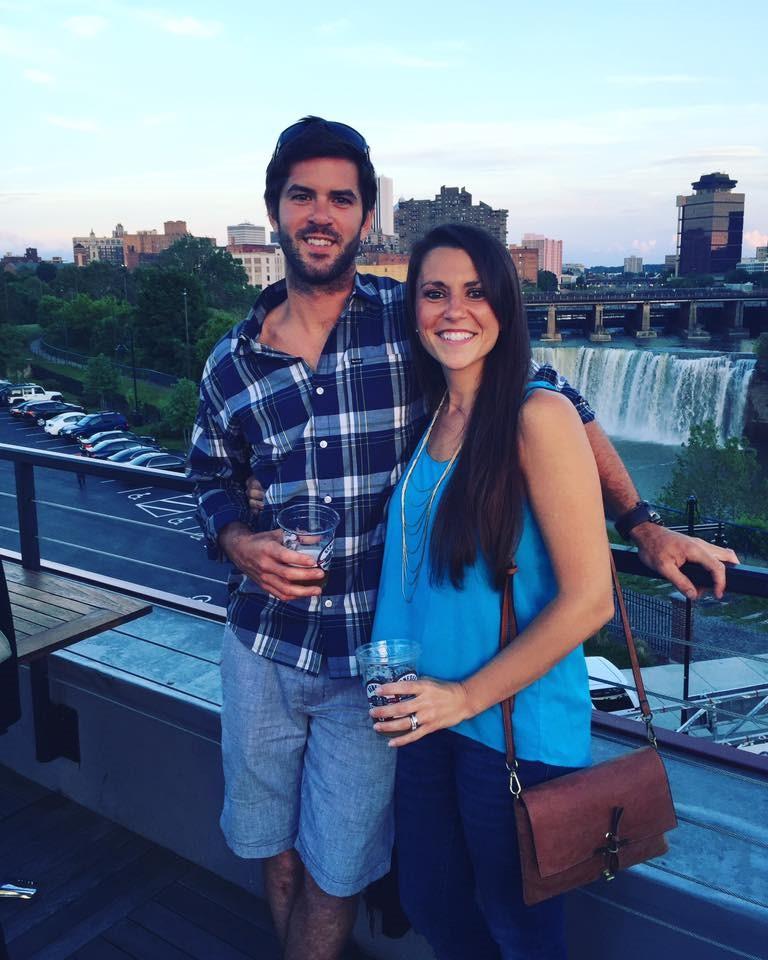 Drew and wife Dana